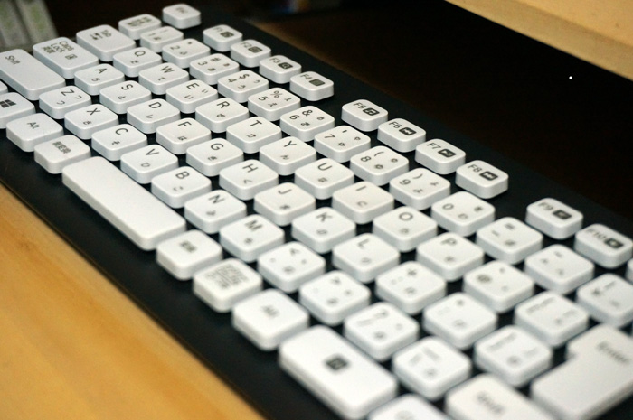 洗えるキーボード