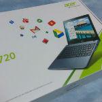日本正規品Acer Chromebook C720のレビューと感想