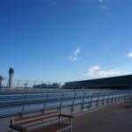 空港のスカイデッキ