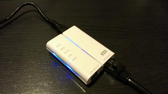 無線LANルーター接続