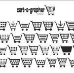 商用無料!様々なショッピングカートのデザインが揃っているフリーフォント