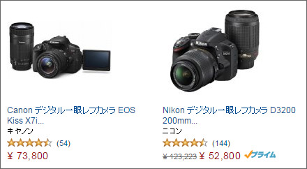 Amazonの価格表記