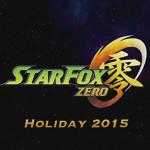 【WiiU】スターフォックス零!シリーズ最新作が2015年末に発売