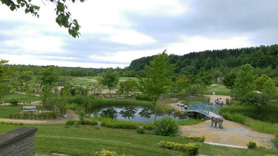 えこりん村の広大な敷地