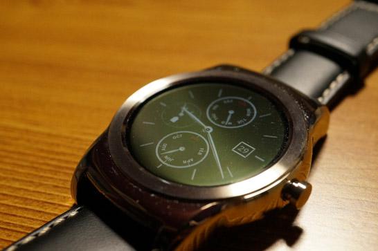 LG Watch Urbane外観