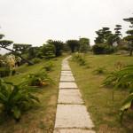 海が一望できる和歌山県の番所庭園で散歩してきた