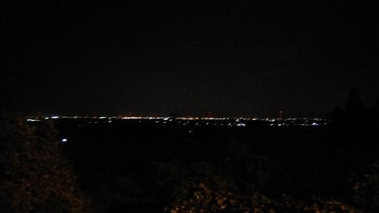 てっぺん亭の夜景