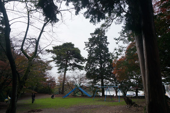 胡宮神社の公園