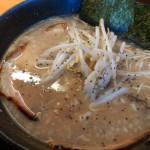 【閉店】とことん豚骨!3種の麺から選べる麦笑ラーメン長浜店でランチ