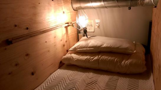 Bunkのベッド