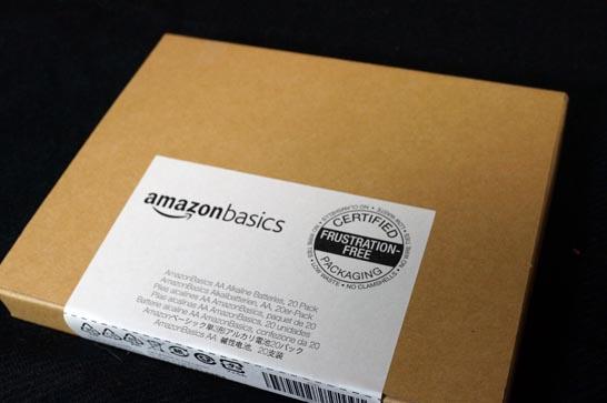 Amazonの乾電池外観