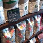 スターバックスではコーヒー豆も買えて店で飲むよりお安くご家庭でも楽しめる