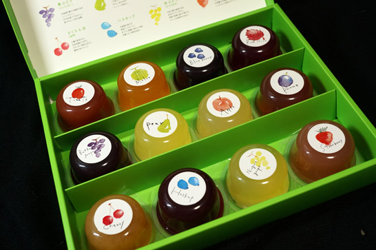 北海道珠玉の果実ゼリー
