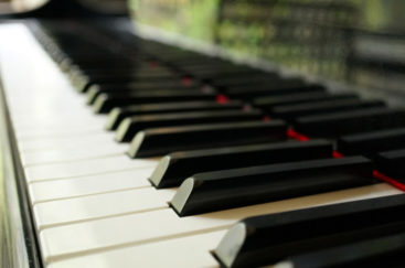 ピアノの鍵盤