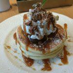 札幌市大通で絶品サッポロパンケーキ!タイル貼りのカフェ「ミント」