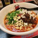 辛いようで甘味のある平麺担々麺が特長の大垣市にある「坦々屋サンコック」