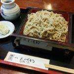 彦根城下町のキャッスルロードで食べる本格十割そばの「もんぜんや」でランチ