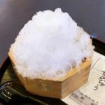 大垣限定かき氷!岐阜県老舗和菓子店の餅惣が贈る水まんかき氷がおすすめ