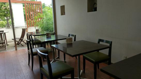 ちゃらくカフェスペース