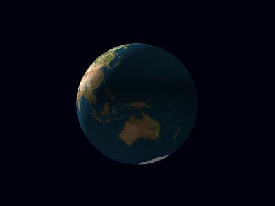 地球の日の当たり方