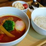 こだわりのスープカレーが旨い岐阜県郡上市の老舗カフェ「アルピーヌ」でランチ