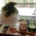 滋賀県草津市のカフェ「抹茶庵けんしん」で特製抹茶かき氷が和を感じる絶品でした