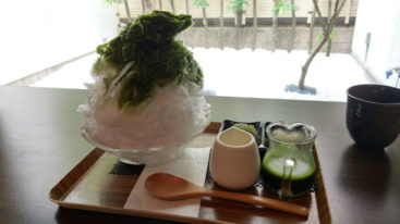 特・抹茶かき氷