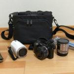 カメラが2台に三脚も入るカメラバッグならAmazonベーシックのバッグが安くておすすめ