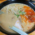 珍しいみそ担々麺がコク深くて旨い、岐阜県大垣市の「ラーメンしんせん」