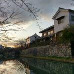 近江八幡の八幡堀へ歴史ある絶景を見に、近江商人の要の地を散策