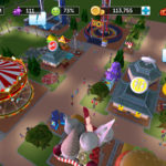 スマホで遊園地経営ゲーム「ローラーコースタータイクーンタッチ」レビュー