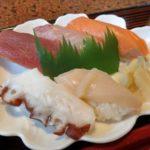 千歳市の和食処「ほうりん」の安い充実の寿司ランチ
