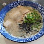 大垣市の「博多ラーメンとみた」ライスおかわり自由、替玉1玉無料で大満足のランチ